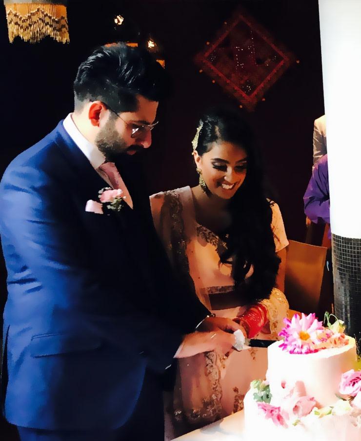 wedding ceremony in roshnis restaurant
